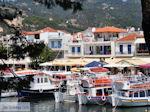 Kleurrijk Skiathos-stad