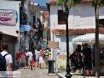 Winkelstraat Papadiamantis in Skiathos-stad foto 3