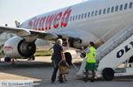Sunweb Transavia vliegtuig   Skiathos Sporaden   De Griekse Gids foto 2
